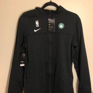 Nike Boston Celtics Zip Up Dri Fit Track Jacket